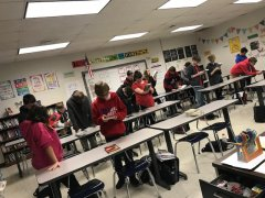 Preparing for Lit Circles—Speed Dating WWII Books in Mrs. Coleman's Class